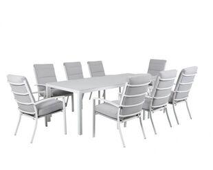 Jette-Boston 9 Piece Dining (White)
