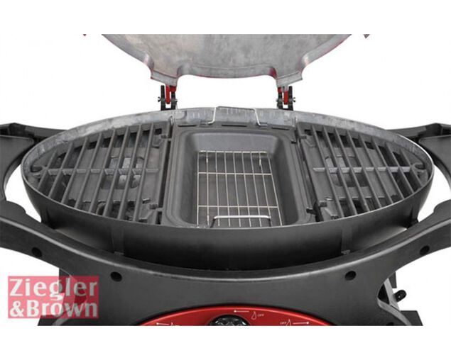 Ziegler & Brown Cast Iron Baking Dish for Triple Grill, , hi-res image number null