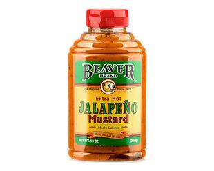 Beaver Jalapeno Mustard