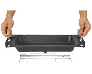 Ziegler & Brown Cast Iron Baking Dish for Triple Grill