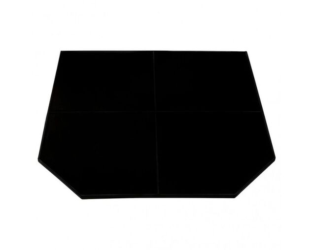 Maxiheat Full Hearth 1x1M Gloss Black, , hi-res image number null