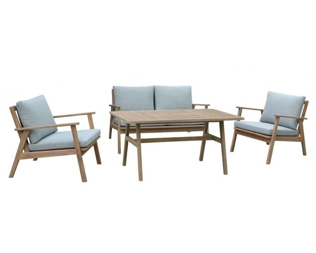 Zedd 4 Piece Low Dining Setting, , hi-res image number null
