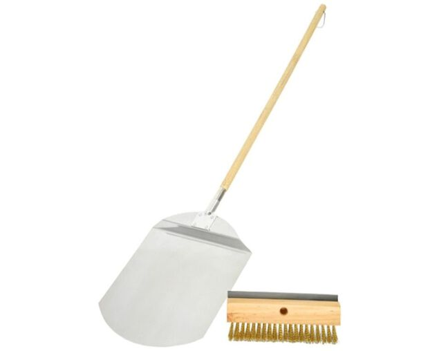 Pro Grill Pizza Spatula & Brush Set, , hi-res image number null