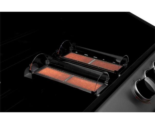 Ziegler & Brown Turbo Classic 4 Burner on Side Burner Cart, , hi-res image number null