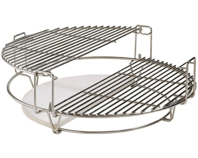 Kamado Classic One Half Moon SS Cooking Grate, , hi-res image number null