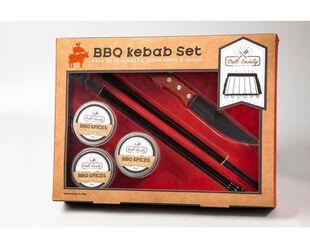Grill Society Kebab & Seasoning Set