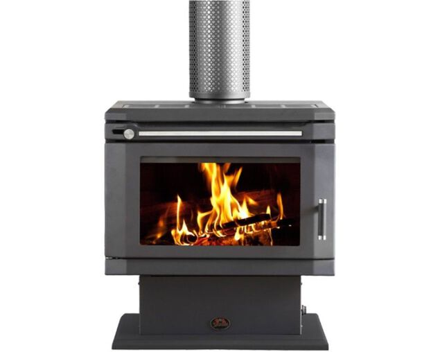 Saxon Blackwood Freestanding Wood Heater, , hi-res image number null