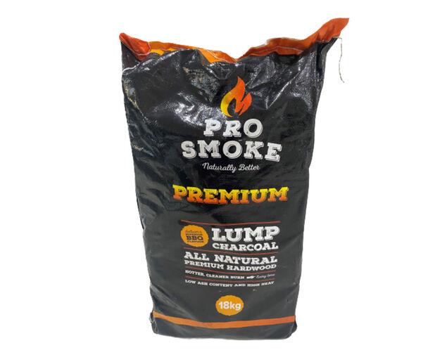 Pro Smoke 18kg Premium Hardwood Lump Charcoal, , hi-res image number null