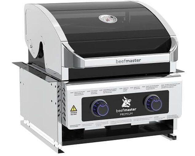 Premium Beefmaster 2 Burner Build-In BBQ, , hi-res image number null