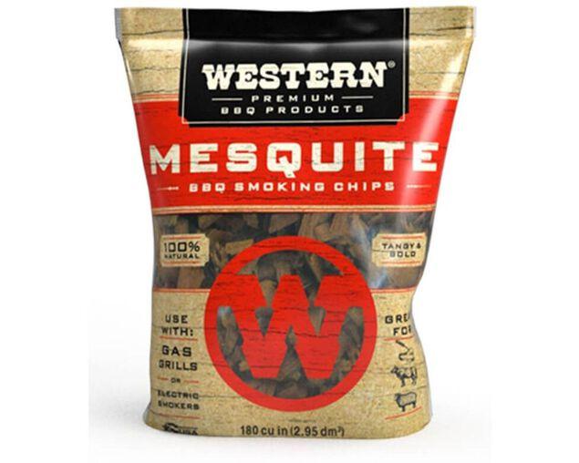 Western Premium Smoking Chips - Mesquite, , hi-res image number null
