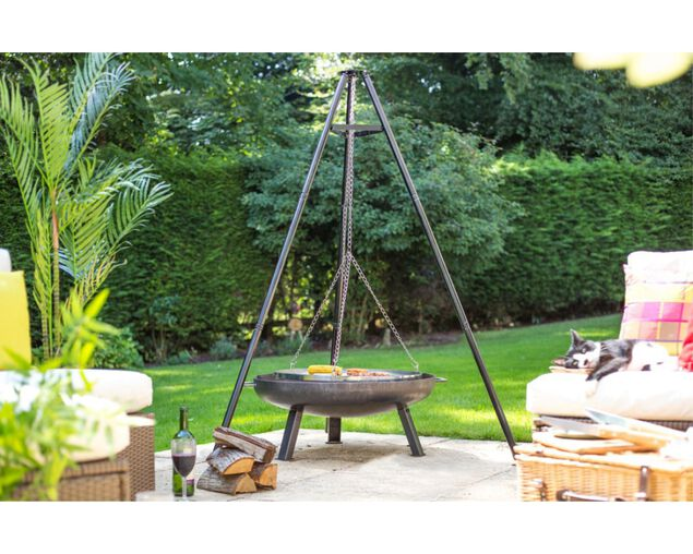 Tripod With Carry Bag & Grill, , hi-res image number null
