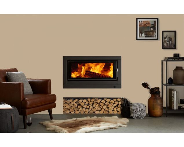 Norseman Aura Insert Wood Heater, , hi-res image number null