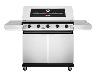 BeefEater 1200 Series - 5 Burner Stainless Steel BBQ With Side Burner
