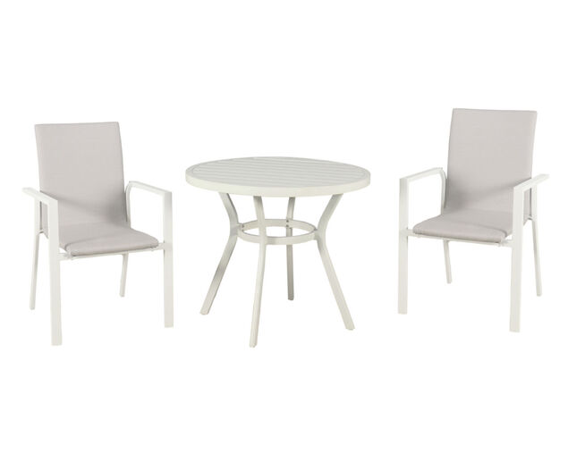 Jette Quick Dry 3 Piece Dining (White), , hi-res image number null