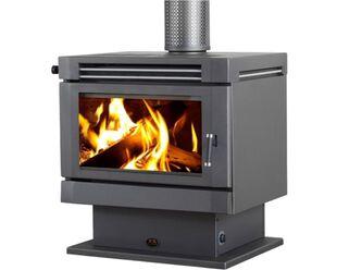 Saxon Mahogany Freestanding Wood Heater