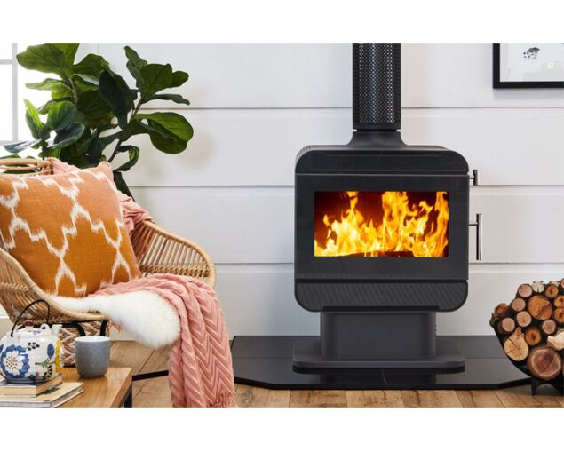 Austwood Lachlan Freestanding Wood Heater, , hi-res image number null