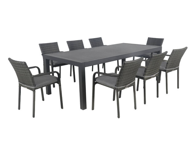 Larache-Jette 9 Piece Dining Setting, , hi-res image number null