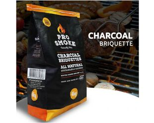 Pro Smoke Charcoal Briquettes - 4kg