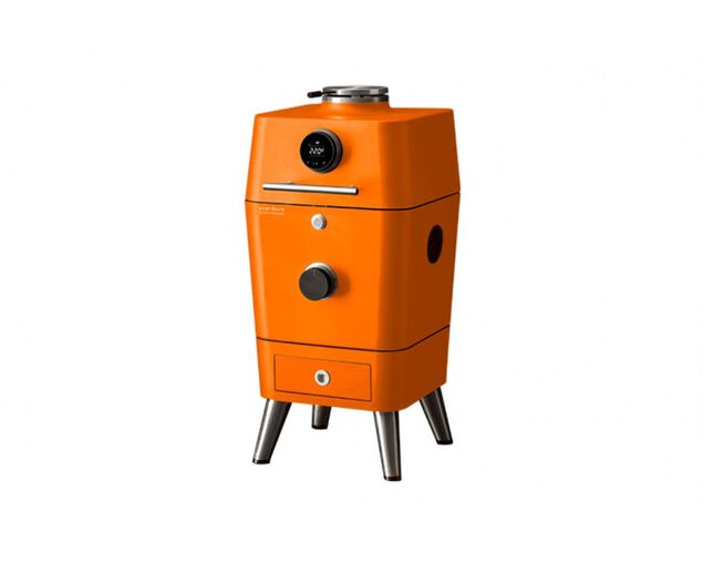 Everdure by Heston Blumenthal 4K Electric Ignition Charcoal Outdoor Oven - Orange, , hi-res image number null