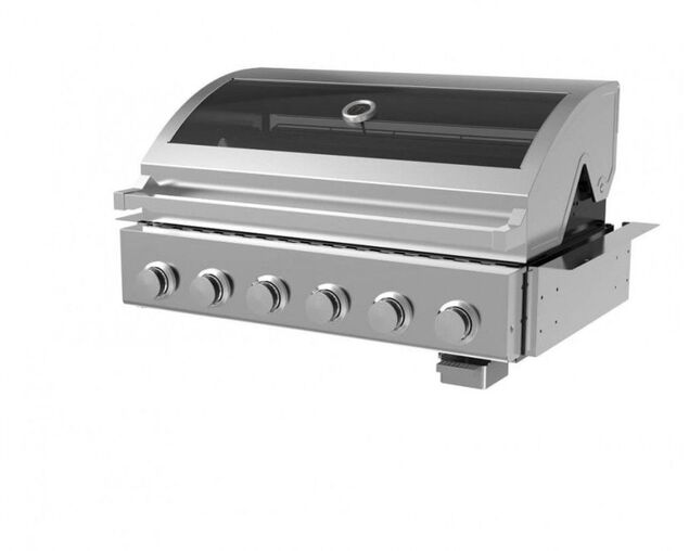 Alfresco 6 Burner Build-In BBQ, , hi-res image number null