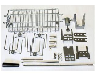 Turbo Stainless Steel Rotisserie Kit NO MOTOR
