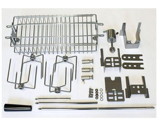 Turbo Stainless Steel Rotisserie Kit NO MOTOR, , hi-res image number null