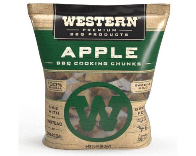 Western Premium Smoking Chunks - Apple, , hi-res image number null