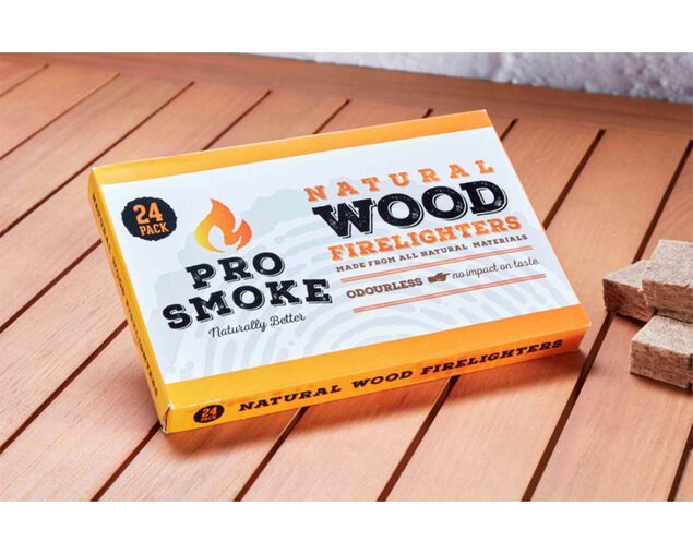 Pro Smoke Wooden Fire Lighters 24pk, , hi-res image number null