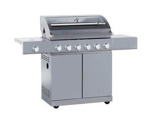 Alfresco 6 Burner BBQ with Side Burner