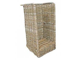 Wicker Log Cart