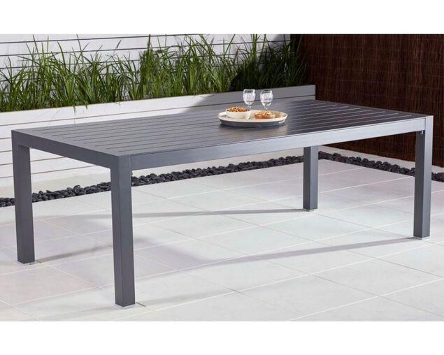 Gunmetal Grey Jette Dining Table (220x104.5cm), , hi-res image number null