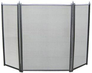 Maxiheat 3 Panel Firescreen with Chrome Trim