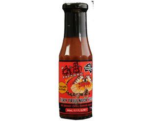 Fiery Frill Neck Hiss: Hot Smokey Chilli Tomato Sauce