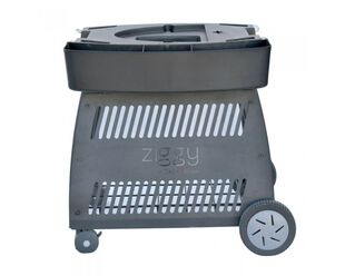 Ziegler & Brown Twin Grill Classic Mobile Cart
