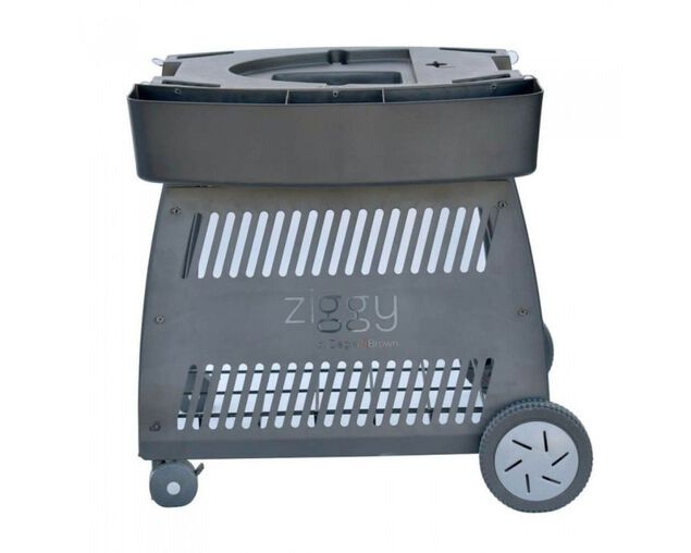 Ziegler & Brown Twin Grill Classic Mobile Cart, , hi-res image number null