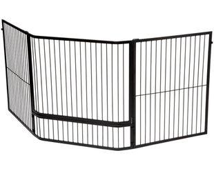 Maxiheat Freestanding Corner Child Guard with Gate