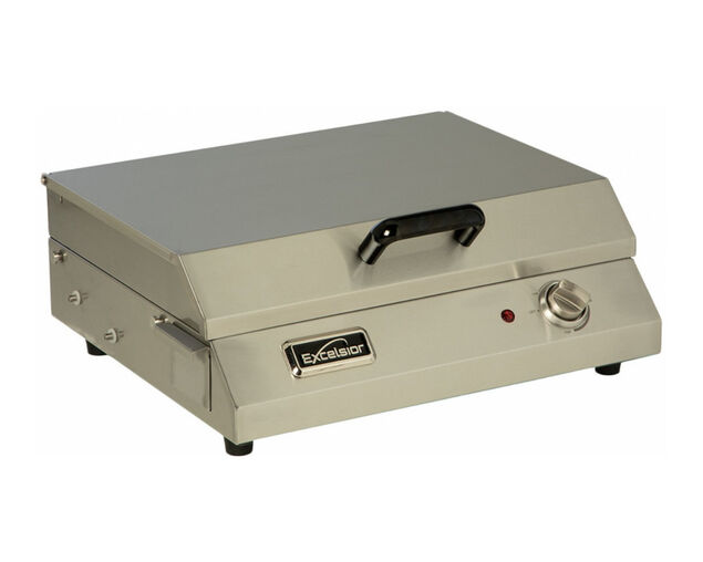 Excelsior Electric Balcony BBQ 316 Grade Stainless Steel, , hi-res image number null