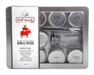 Bbq Rub Lab - Make Your Own Rubs With Shaker