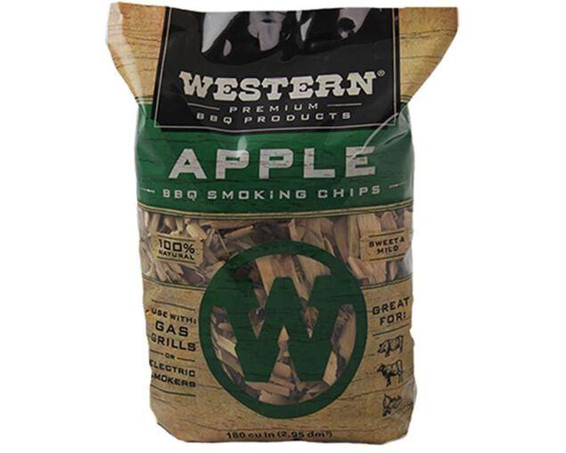 Western Premium Smoking Chips - Apple, , hi-res image number null