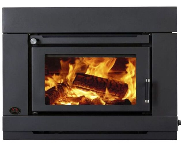 Saxon Blackwood Insert Wood Heater, , hi-res image number null