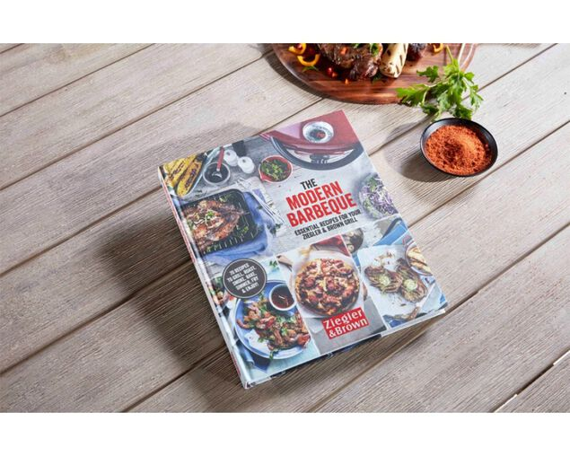 The Modern Barbeque Cookbook by Ziegler & Brown, , hi-res image number null