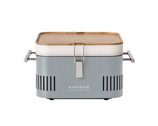 Everdure by Heston Blumenthal CUBE Charcoal Portable Barbeque - Stone