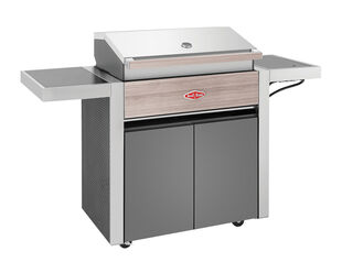 BeefEater 1500 Series - 4 Burner BBQ With Side Burner