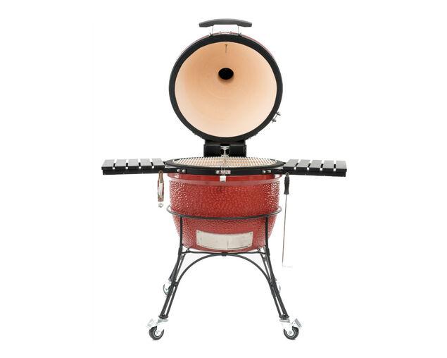 Kamado Joe Classic D&C on Cart Series II - Red, , hi-res image number null