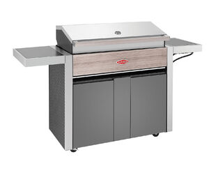 BeefEater 1500 Series - 5 Burner BBQ With Side Burner