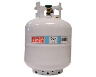 Empty 9kg LPG Gas Cylinder Bottle with Gauge