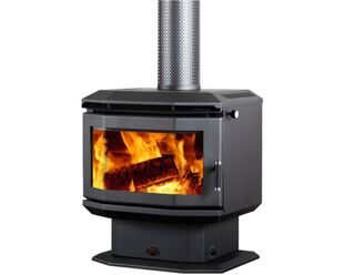 Saxon Rosewood Freestanding Wood Heater