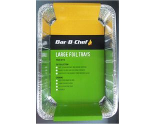 Pro Grill Large Foil Tray 10 Pack
