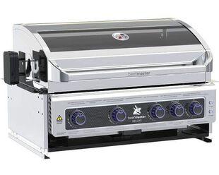 Deluxe Beefmaster 4 Burner Build-In BBQ