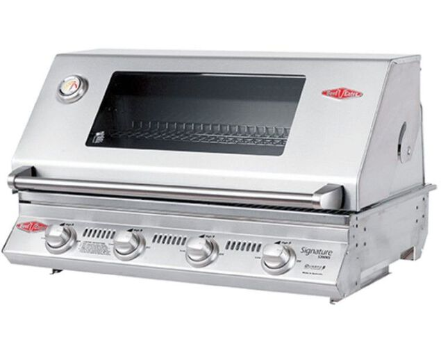BeefEater Signature 3000S 4 Burner Build-In BBQ With Flame Failure Device, , hi-res image number null